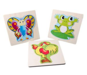 Loving Cartoon Printed Wooden Jigsaw pictures & photos