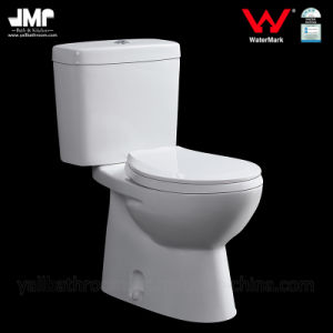 Watermark Wels Bathroom Wc Two Piece Ceramic Toilet pictures & photos