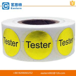 Custom Design Self Adhesive Logo Round Sticker pictures & photos