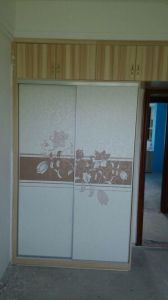 MDF Sliding Wardrobes Wd004 pictures & photos