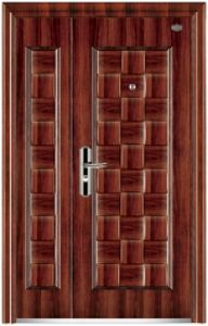 Entrance Security Steel Door with Lite for Villa pictures & photos