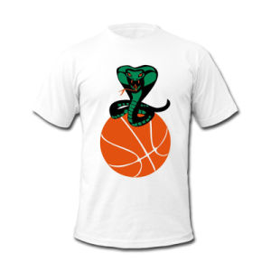 Custom Printed Logo Basketball T Shirt for Club pictures & photos