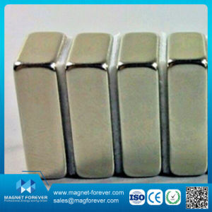 Block Neodymium (NdFeB) Magnet for Motor, Speaker with RoHS SGS pictures & photos
