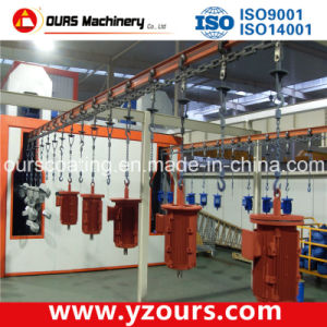 Complete Automatic Powder Coating Line for Motors pictures & photos