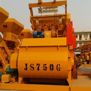 Double Horizontal Concrete Mixer for Sale (Js750) pictures & photos