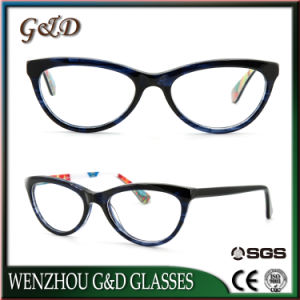 Popular High Quality Acetate Spectacle Optical Frame Eyewear Eyeglass Cls-1 pictures & photos
