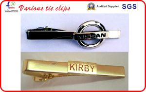 Cheap Tie Clips Bow Tie Clip with Custom Logo pictures & photos