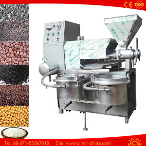 Sunflower Groundnut Soybean Rape Mustard Black Seed Oil Press Machine pictures & photos