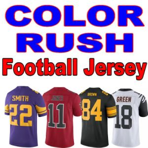 Color Rush Limited Jersey Vapor Untouchable Rebular and Custom Any Name Number Blue White Red Customized