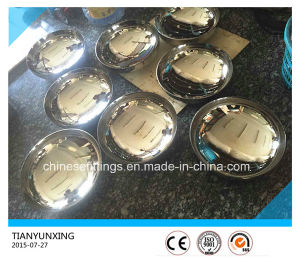 Ss304 Polished Ellipsoidal Head Caps for Water Tanks pictures & photos