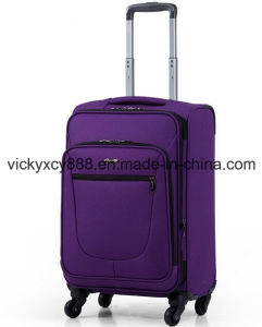 Waterproof Oxford Wheeled Trolley Business Travel Luggage Case Bag (CY9957) pictures & photos