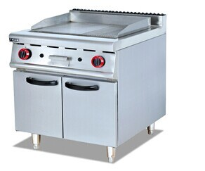 Gas Griddle with Cabinet for Kitchen (GH-986) pictures & photos