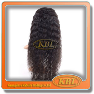 Human Hair of Indian Full Lace Wig From Guangzhou Kbl pictures & photos