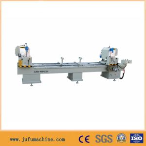 Plastic Cutting Machine with Double Saw Head pictures & photos