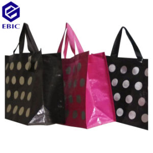 PP Woven Shopping Bag with Printed OPP Film pictures & photos