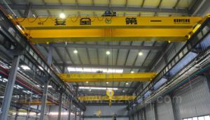High Quality Electromagnetic Overhead Crane with Top-Slewing Trolley