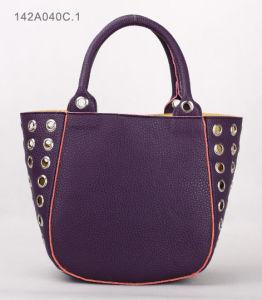 Fashion Lady PU Handbag (JYB-29182) pictures & photos