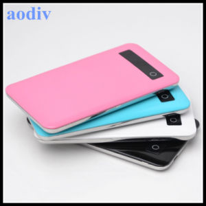 4000mAh Polymer Battery Power Bank with Smart Touch Screen