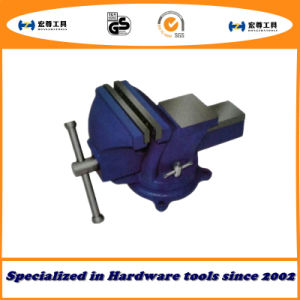 5′′ 125mm Super-Light Duty Bench Vise Swivel Base with Anvil pictures & photos