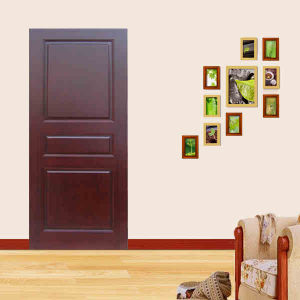 2014 New Design MDF Coated PVC Wood Interior Doors pictures & photos