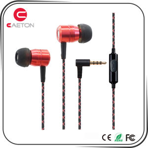 Wired 3.5mm Earphones Metal Case Earbuds for Computer & Mobile Phone pictures & photos