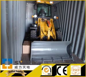 Artiulated 1.2 Ton Small Wheel Loader/Mini Wheel Loader pictures & photos