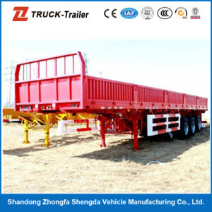 Factory Price 60 Ton 3 Axle Side Wall Semi Trailer for Sale