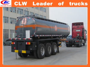 2015 Good Price 50cbm Fuel Tanker Semi Trailer 3 Axle Fuel Tankertrailer pictures & photos