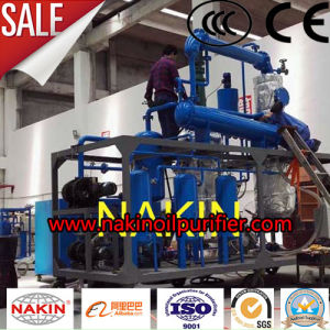 China Manufacturing Waste Lube Oil Recycling Oil Regeneration Filtering Machine pictures & photos