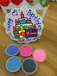 24 Colors Handmade DIY Education Children Toy Non-Toxic Magic Foam Putty Clay Manufactory Direct Sales Super Light Non-Toxic Modeling Clay/Modeling Clay/Modelin pictures & photos