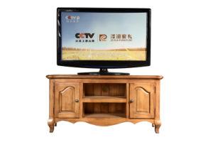 Solid Oak Wood Furniture Antique Large TV Cabinet