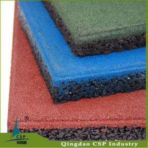Tasteless Natural Rubber Sheet Tile pictures & photos