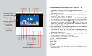 """868MHz 7"""" Touch Screen GSM+PSTN Alarm System with Cid Protocol (ES-S6) pictures & photos"""