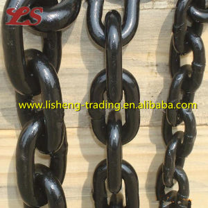 Black Painted Marine Studless Anchor Chain pictures & photos