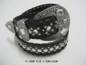 Studded Belt with Rhinestone Fl-0099 pictures & photos