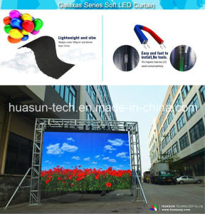 Huasun Galaxias Curved Flexible LED Video Wall Indoor Outdoor