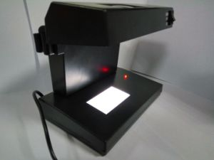 UV and LED Lamp Money Detector with Magnifier pictures & photos