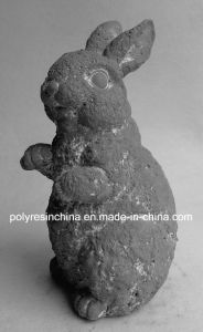 Magnesia Garden Decoration of Rabbit Statue pictures & photos