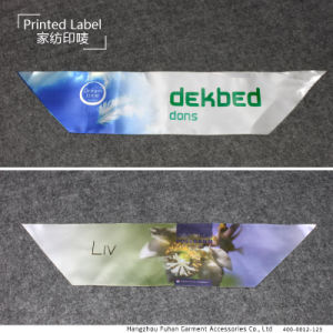China Factory Custom Print Mattress Label for Textile pictures & photos