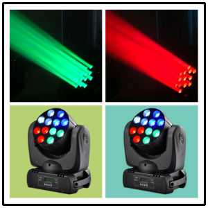 12*10W CREE LED Beam Moving Head Zoom Stage Wash Light pictures & photos