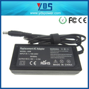 19V 3.15A 60W for Samsung Laptop AC DC Power Adapter pictures & photos