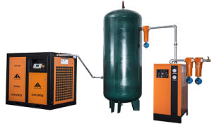China Supply Oil Lubricant Screw Air Compressor (37kw, 50HP) pictures & photos