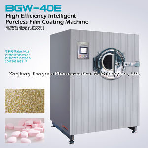 High Efficiency Intelligent Poreless Film Coating Machine (BGW-40E) pictures & photos