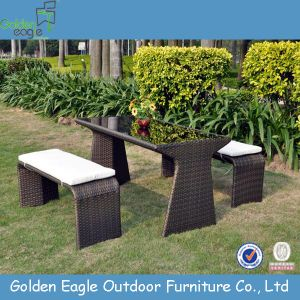 PE Rattan Outdoor Used Beach Chair Garden Bench