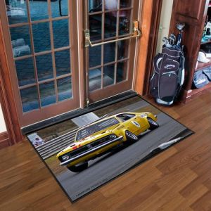 Custom Garage Anti-Slip Floor Mat with Logo