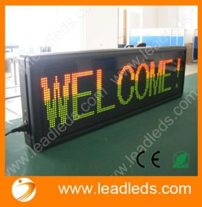 High Resolution P7.62 Advertising Bus LED Board