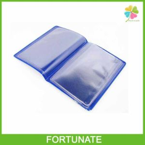 Eco-Friendly PVC Plastic Card Holder for Bank pictures & photos