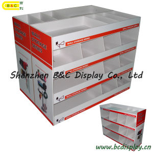 Hardware Tool Cardboard Display Stand, Counter Display, Pop Display Rack, Display Showcase (B&C-A070) pictures & photos
