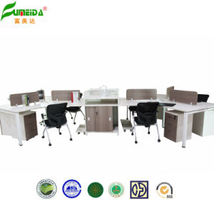 Modern High Quality Wood Partition Workstation Office Partition pictures & photos