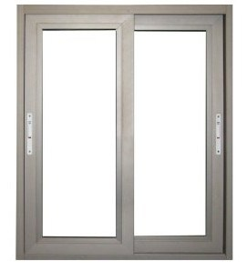 Double Glazing Aluminium Window Competitive Price with SGS Approved (pH-8835)